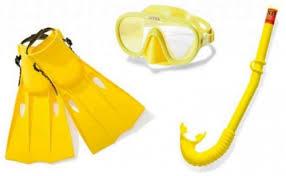 Набор для <b>плавания Intex</b> Master Class маска + трубка + ласты ...