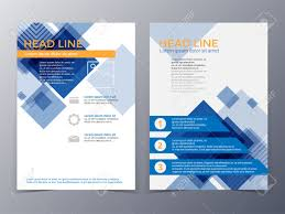 business and technology brochure design template in a size vector business and technology brochure design template in a4 size for use as company annual report poster