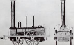 「1814 Robert Stephenson succeeded steam engine」の画像検索結果