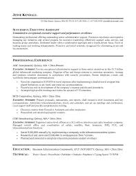 resume template  resume objective for cashier resume template    objective for resume administrative assistant   professional experience as executive assistant