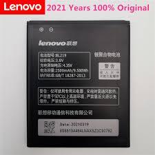<b>100</b>% <b>Original</b> Backup BL219 <b>2500mAh</b> Battery Use for Lenovo ...