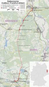 ferrovia Cottbus-Francoforte sull'Oder