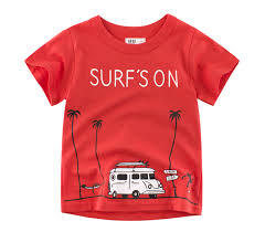 2019 New <b>Summer Baby Boy Girl</b> T Shirt Cartoon Car Tops Truck ...