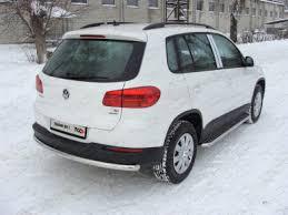 Купить <b>Защита задняя</b> (<b>центральная</b>) 60,3 мм Volkswagen Tiguan ...