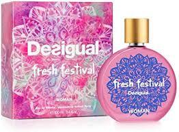 <b>Desigual Fresh</b> Festival 07-1504000 <b>Eau de</b> Toilette 100 ml ...