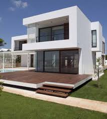 wonderful black white glass wood modern design minimalist outdoors houses wood flooring steps garden grass wall awesome black white wood glass