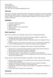 examples of a bankers resume cover letter administrative job examples of a bankers resume chase personal banker resume sample banker resumes