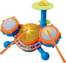 VTech KidiBeats Kids Drum Set, Orange: Toys & Games - Amazon.com