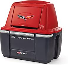 Step2 Corvette <b>Storage Chest</b> - <b>Red</b>/Black: Amazon.co.uk: Toys ...