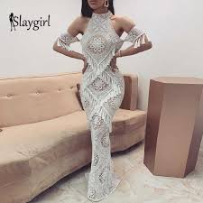 Slaygirl <b>Elegant Summer</b> Dress Women <b>Sexy</b> Slim Bodycon White ...
