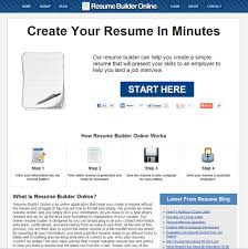 creating online resume cipanewsletter which resume builder is capable of creating the best resume that