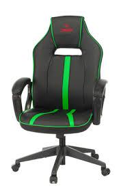 <b>Кресло</b> игровое <b>Бюрократ VIKING ZOMBIE</b> A3 черный/зеленый ...