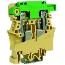 FPL.10/C24, держатель предохранителя 10кв.мм бежевый с <b>LED</b> ...