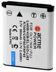 <b>Аккумулятор AcmePower AP-Li-42B</b> / Li-40B для Olympus, код ...