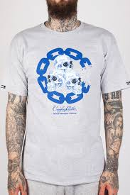 <b>Футболка</b> CROOKS & CASTLES Skull Ware Chain C Crew T-Shirt ...