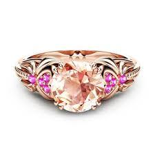 Modyle <b>Fashion</b> Female Ring Unique Beautiful <b>Rose Gold Color</b> ...