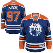 Хоккейный свитер Edmonton <b>Oilers</b> Mcdavid 2 цвета