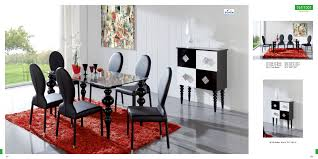 Contemporary Black Dining Room Sets Modern Furniture Art Deco House Design Living Room Ideas With