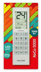 <b>CHUNLAN</b> Air-Conditioner <b>Replacement</b> Remote Control AirCo 5000