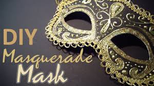DIY: Masquerade Mask (from scratch) - YouTube