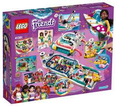 Купить Конструктор <b>LEGO Friends</b> 41381 <b>Катер для</b> ...