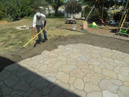stone patio installation: stone patio design ideas excellent patio paver suggestions paver patio designs  images about front patio