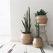 <b>Multifunctional</b> Nordic Style Flower <b>Fruit Basket</b> Handmade Home ...