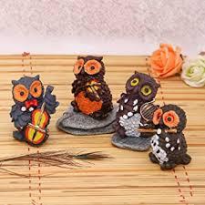 Buy JaipurCrafts Polyresin <b>Musical Owl</b> Family Set, 3.50IN ...