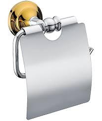 <b>Держатель туалетной бумаги Melana</b> хром/золото