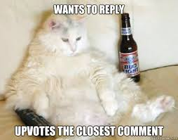 Lazy cat memes | quickmeme via Relatably.com