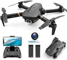 <b>4DRC</b> V4 <b>Foldable Drone with</b> 1080p HD Camera for Adults and ...