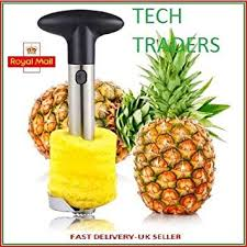 Tech Traders New <b>Stainless Steel</b> Fruit <b>Pineapple Slicer</b>: Amazon.co ...