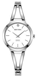 <b>Часы Rhythm</b> L1501S01 L1501S 01 Япония <b>Женские</b> Swarovski ...