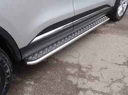 <b>Боковые подножки</b>, <b>пороги</b> (<b>диаметр</b> 42,2 мм) ТСС для Renault ...