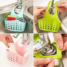 Bluelans® <b>Hanging</b> Storage <b>Drain</b> Basket Sink Organizer <b>Rack</b> ...