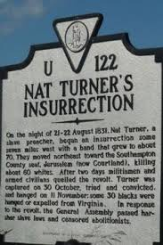 「Nat Turner's slave rebellion」の画像検索結果