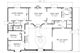 U shaped house plans   courtyard   more intimacyProiecte de casa in forma de U intime