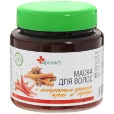 <b>Маска для волос</b> Apotek's с экстрактом красного перца и корицы ...