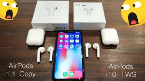 AirPods 1:1 Copy & AirPods <b>i10 TWS</b> Comparison Review - YouTube