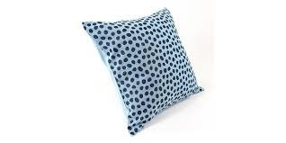 <b>Чехол</b> для <b>подушки</b> из хлопка с принтом <b>funky</b> dots, серо-голубой ...