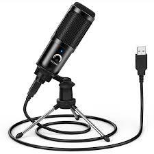 <b>LEEHUR</b> Professional Microphone Condenser Recording Voice ...