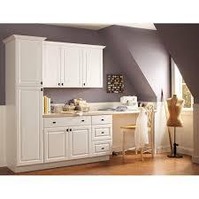 Hampton Bay Kitchen Cabinets Hampton Bay 3 X 915 X 075 In Cabinet Filler In Satin White