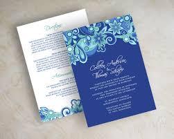 royal blue wedding invitation templates invitation template about wedding invitations royal blue weddings royal blue