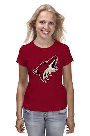 "Футболка классическая ""Arizona Coyotes"" #457144 от ..."