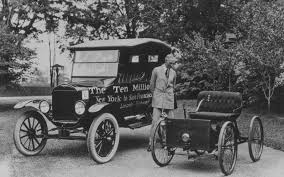 henry ford biography american motor vehicle industry pioneer henry ford 1863 1947 standing next to the