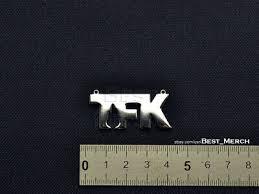 <b>Thousand Foot Krutch</b> Necklace stainless steel <b>TFK</b> Pendant merch ...