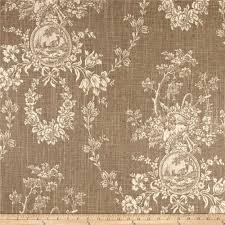 decor linen fabric multiuse: waverly country house toile linen large  waverly country house toile linen