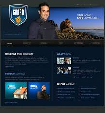 security guard template web design templates website templates security guard template