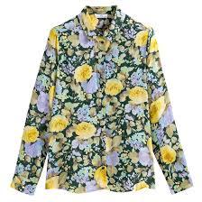 <b>Блузка</b> с длинными рукавами, цветочный принт цветочный ...
