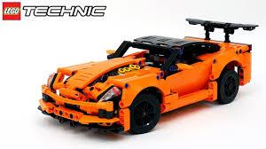 Лего Техник 42093 <b>Chevrolet</b> Corvette ZR1 – Обзор на русском ...